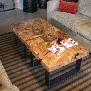 coffee tables at Cox Bay Beach Resort Tofino