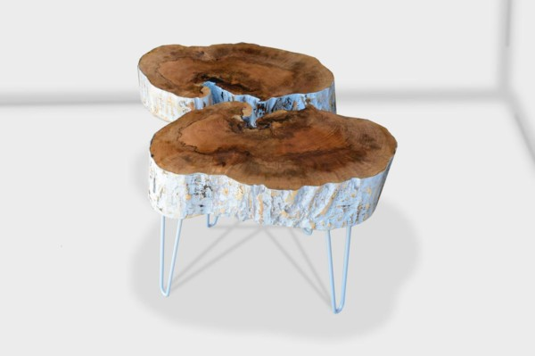 funky chunk end table