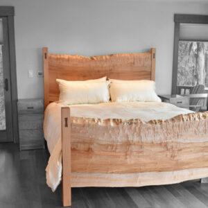 custom luxury king bed