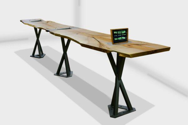 Pirouette communal restaurant table