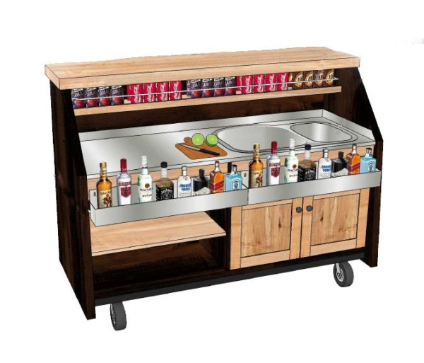 Rolling Bar at Four Seasons