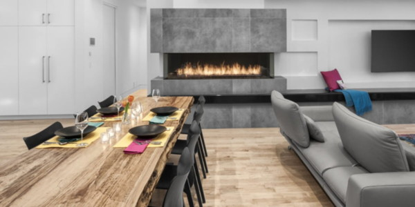 live edge modern natural dining table